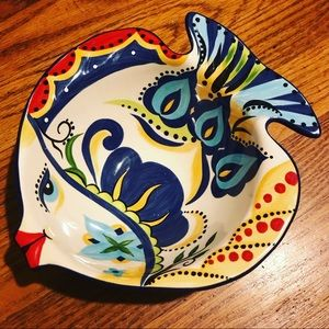 ESPANA BOCCA FISH TRINKET JEWELRY BOWL DISH